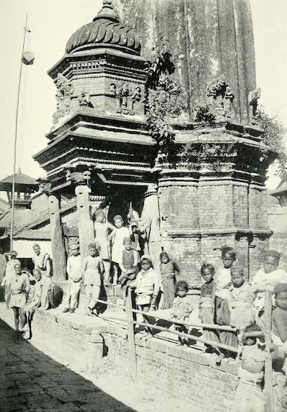 Picturesque Nepal - Terra-cotta Decoration on a Shrine at Bhatgaon (1912)