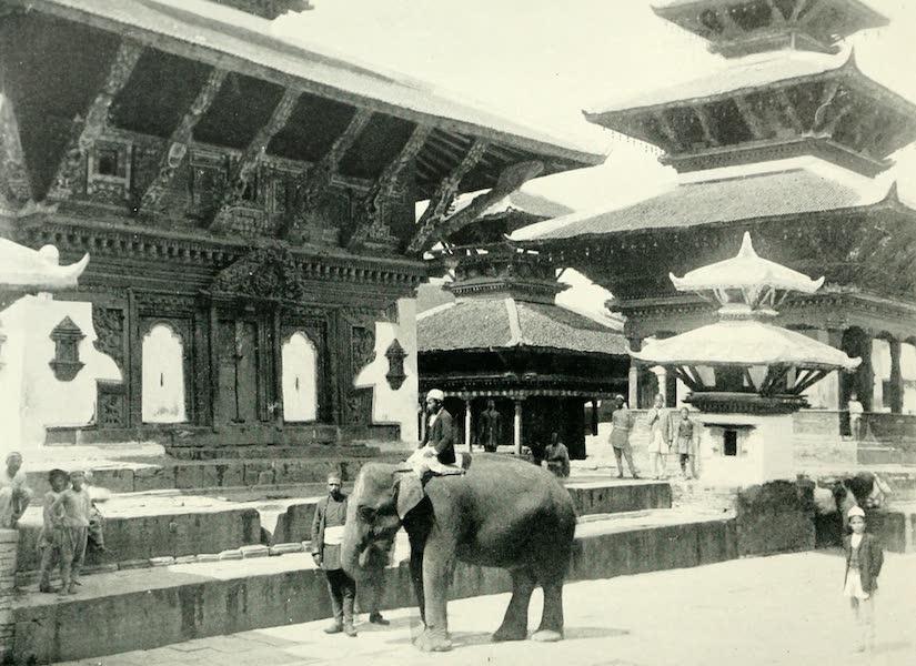 Picturesque Nepal - In the Durbar Square at Katmandu (1912)