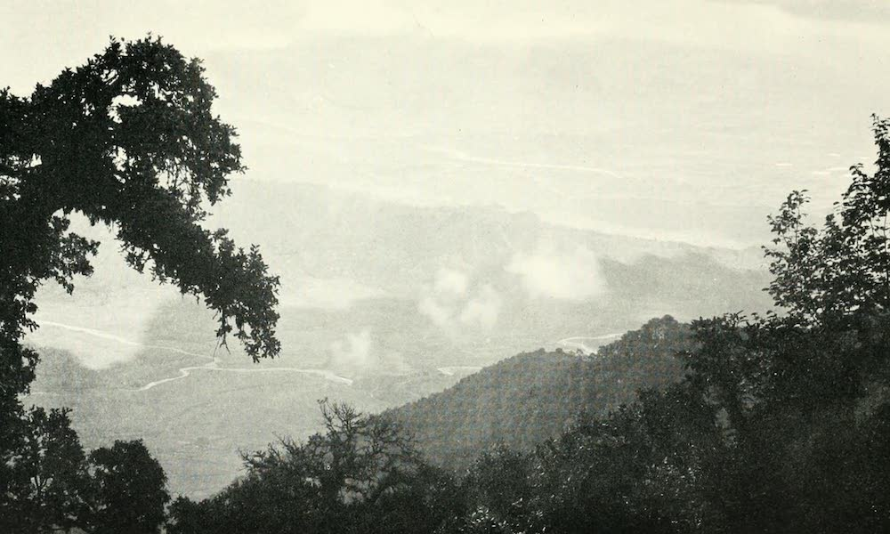Picturesque Nepal - The First View of the Nepal Valley from the Chandragiri Pass (1912)