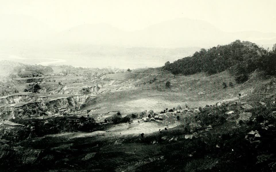 Picturesque Nepal - General View of the Nepal Valley, showing the Effects of Erosion (1912)