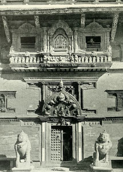 Picturesque Nepal - Entrance to the Durbar at Patan (1912)