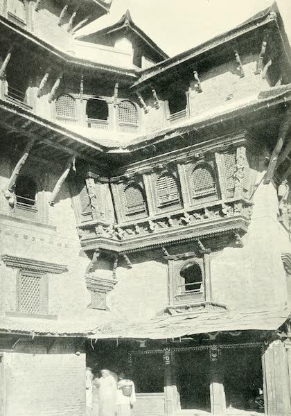 Picturesque Nepal - An Oriel Window in Bhatgaon (1912)