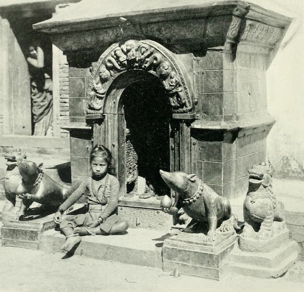 Picturesque Nepal - Shrine dedicated to Ganesh at Patan (1912)