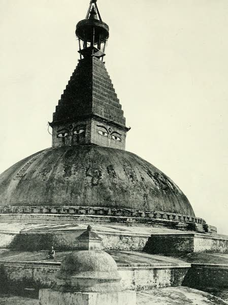 Picturesque Nepal - The Dome of Bodhnath (1912)