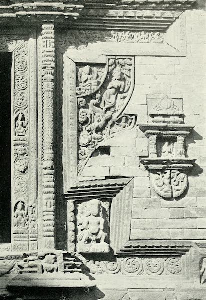 Picturesque Nepal - Details of a Temple Doorway at Bhatgaon (1912)