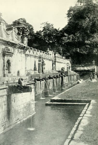 Picturesque Nepal - Fountains in the Garden at Balaji (1912)