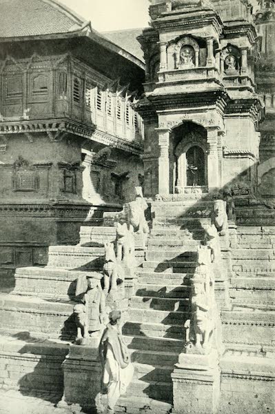 Picturesque Nepal - Stone Temple in the Durbar Square at Bhatgaon (1912)