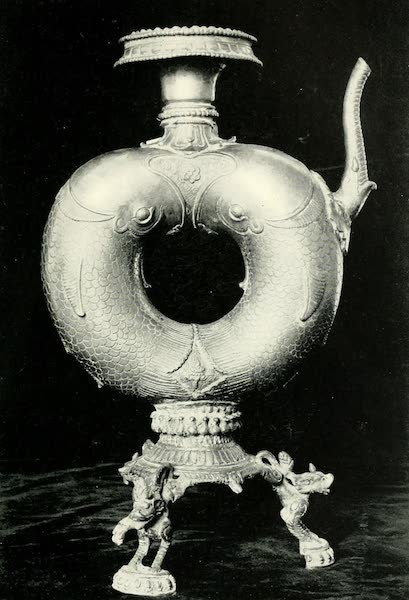 Picturesque Nepal - Brass Temple Utensil from Patan (1912)