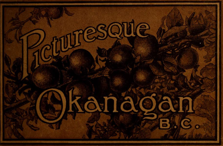 Chromolithography - Picturesque Okanagan