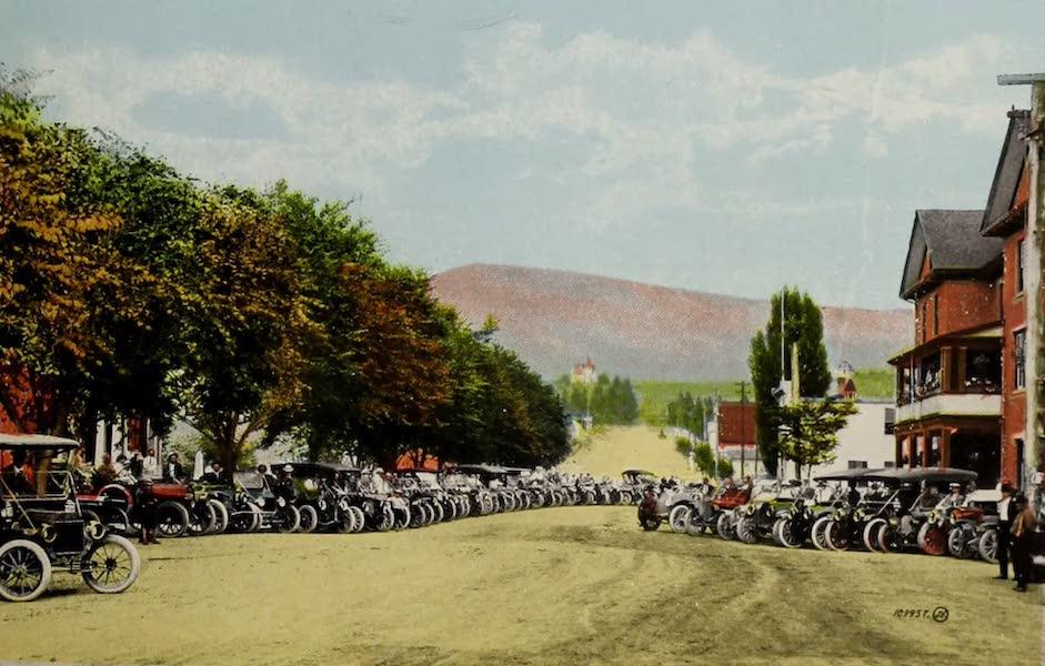 Picturesque Okanagan - Auto Parade, Vernon, B.C. (1910)