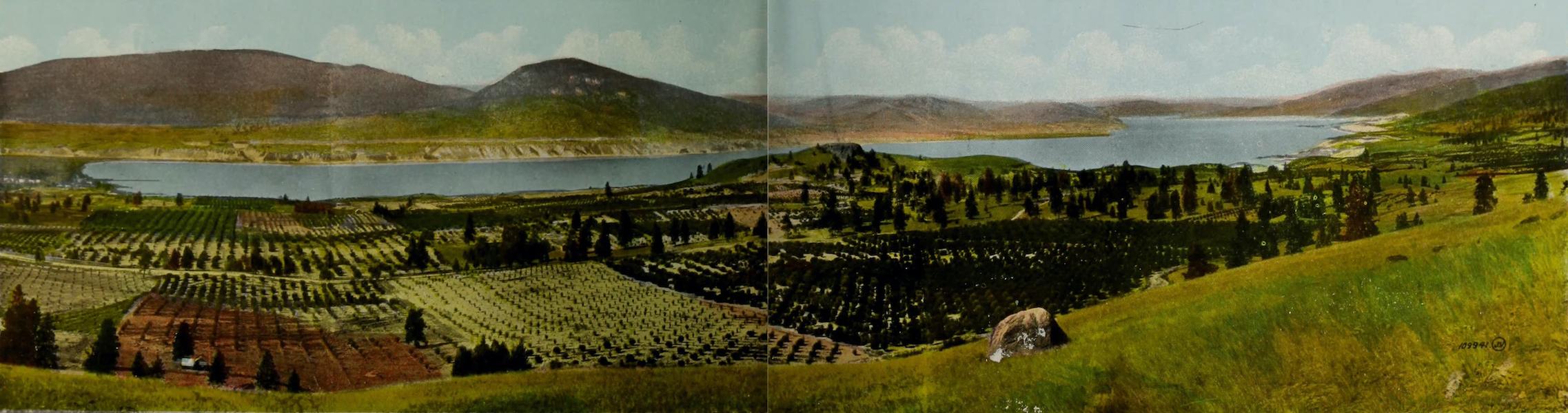 Picturesque Okanagan - The Beaches and Okanagan Lake, Penticton, B.C. (1910)