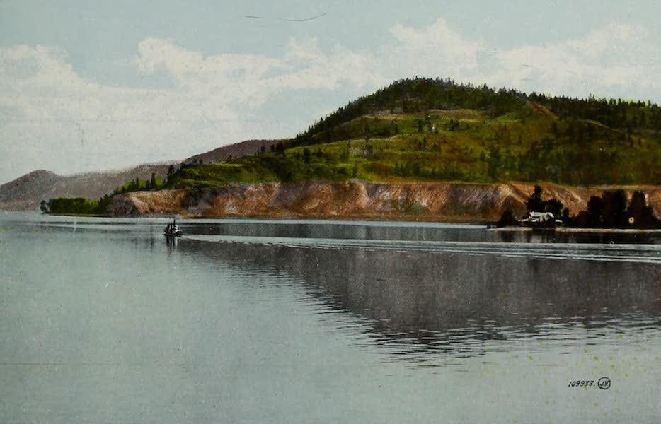 Picturesque Okanagan - Okanagan Lake from C.P.R Steamer near Kelowna, B.C. (1910)