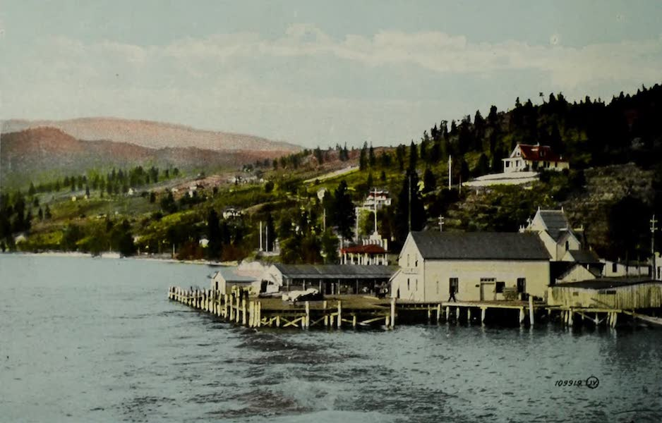 Picturesque Okanagan - Peachland, B.C., from the Lake (1910)
