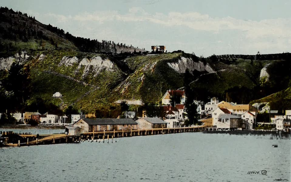 Picturesque Okanagan - Summerland, B.C., from C.P.R Steamers (1910)
