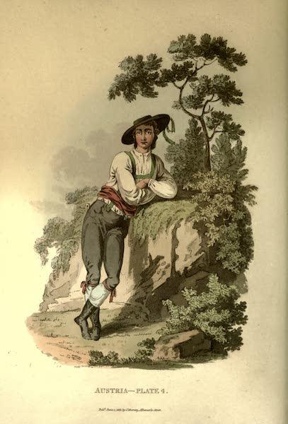 Picturesque Representations of the Austrians - A Peasant of Upper Carniola (1814)