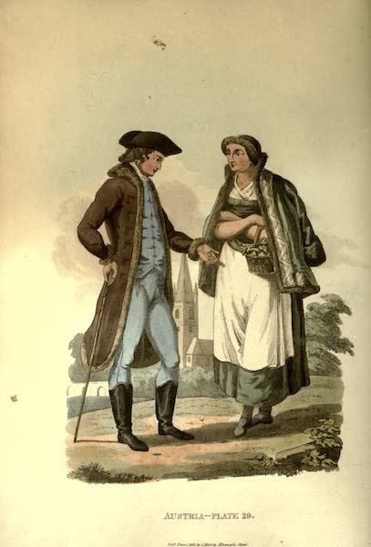Picturesque Representations of the Austrians - Citizens of the Environs of Hermenstadt (1814)