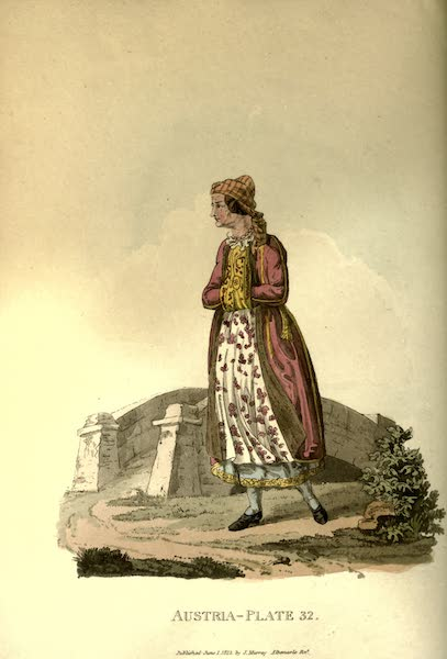 Picturesque Representations of the Austrians - A Polish Jewess (1814)