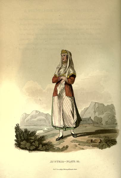 Picturesque Representations of the Austrians - A Zouppanese Countess (1814)