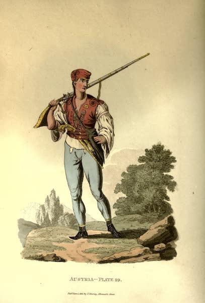 Picturesque Representations of the Austrians - A Serethian (1814)