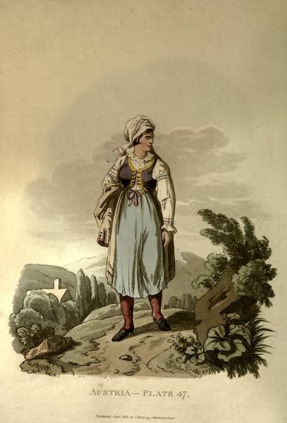 Picturesque Representations of the Austrians - An Hannachian Woman (1814)