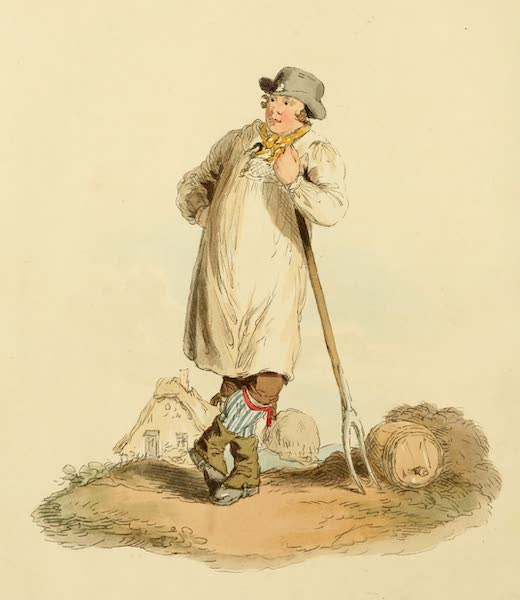 Picturesque Representations of the English - Farmer's Boy (1813)