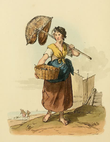 Picturesque Representations of the English - Shrimper (1813)