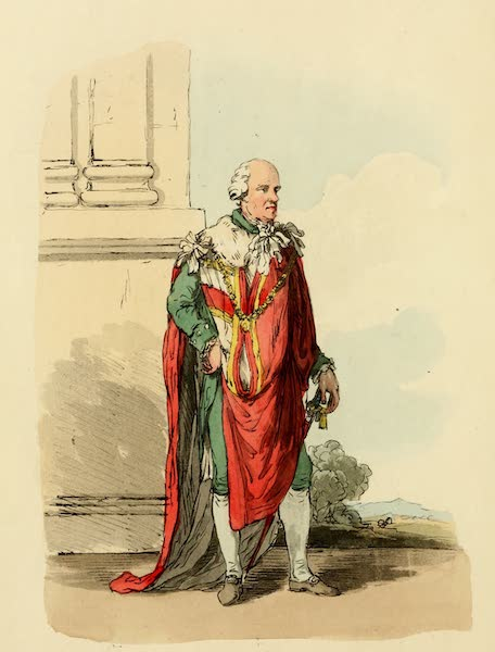 Picturesque Representations of the English - Peer in his Robes (1813)
