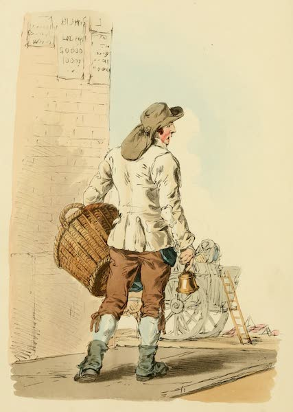 Picturesque Representations of the English - Dustman (1813)