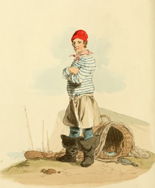 Picturesque Representations of the English - Hastings Fisherman (1813)