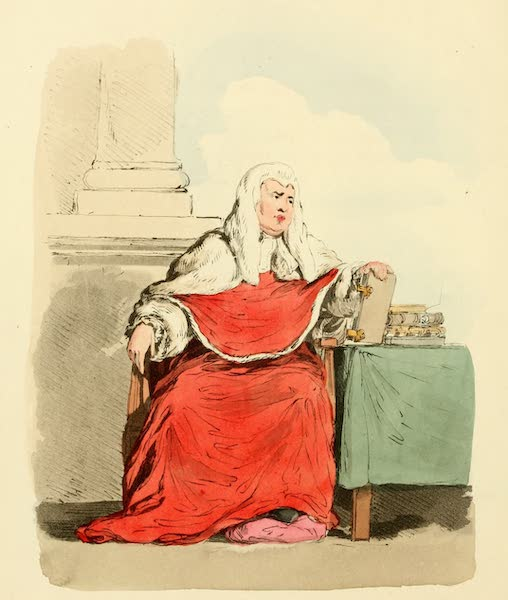 Picturesque Representations of the English - Judge (1813)