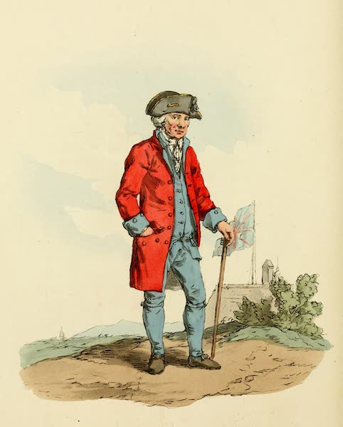 Picturesque Representations of the English - Chelsea Pensioner (1813)