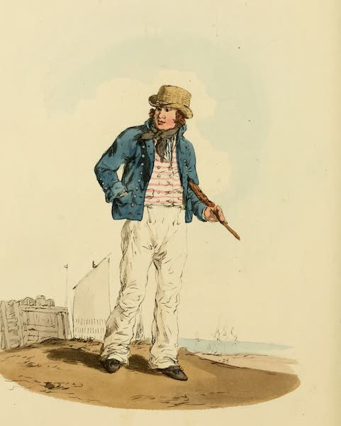 Picturesque Representations of the English - Sailor (1813)