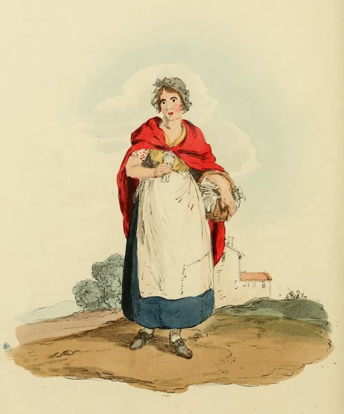 Picturesque Representations of the English - Match Girl (1813)