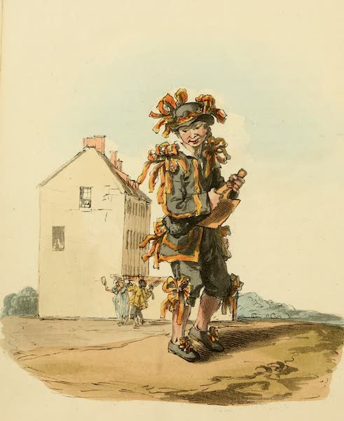Picturesque Representations of the English - Chimney-sweeper on the 1st of May (1813)
