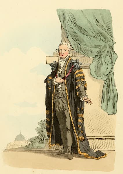 Picturesque Representations of the English - Lord Mayor (1813)