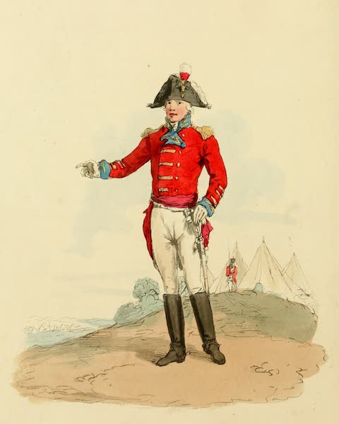 Picturesque Representations of the English - General Officer, (1813)