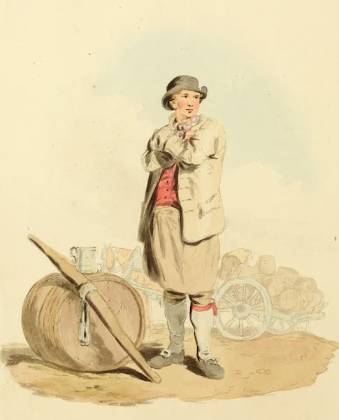 Picturesque Representations of the English - Drayman (1813)