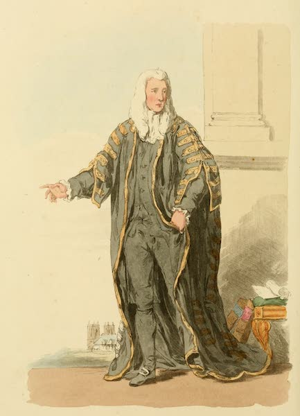 Picturesque Representations of the English - Speaker of the House of Commons (1813)