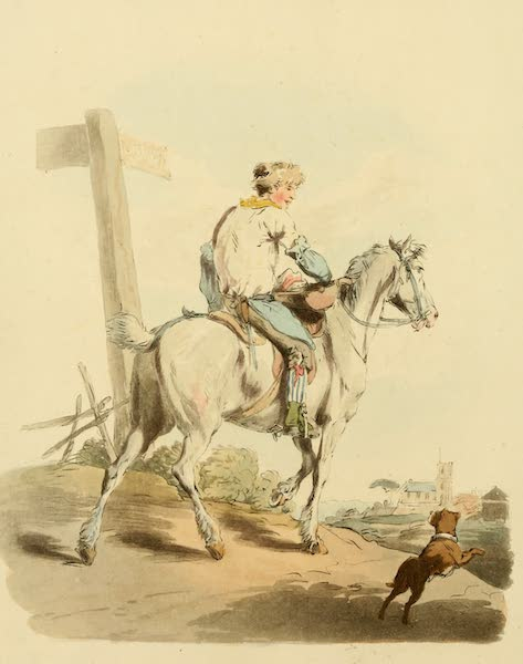 Picturesque Representations of the English - Butcher's Boy (1813)