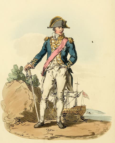 Picturesque Representations of the English - Admiral (1813)