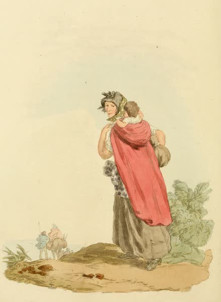 Picturesque Representations of the English - Gipsey (1813)