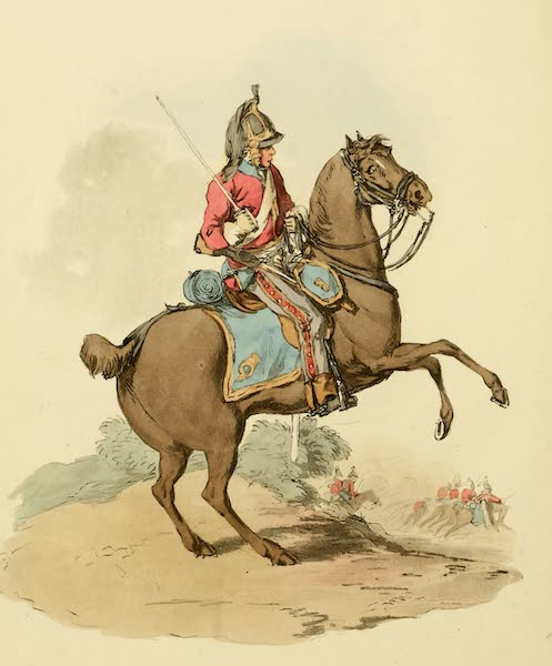 Picturesque Representations of the English - Dragoon (1813)
