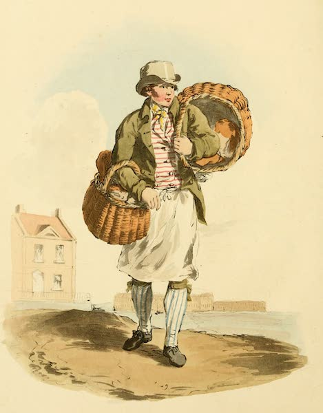 Picturesque Representations of the English - Baker (1813)