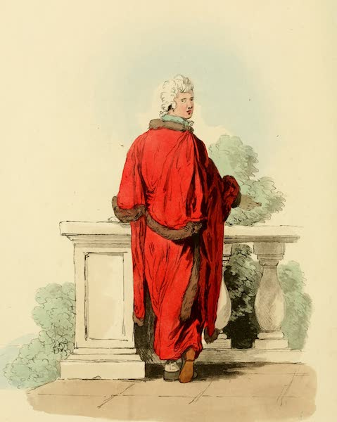Picturesque Representations of the English - Alderman (1813)