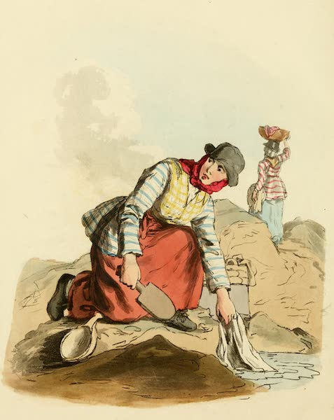 Picturesque Representations of the English - Welsh Woman (1813)