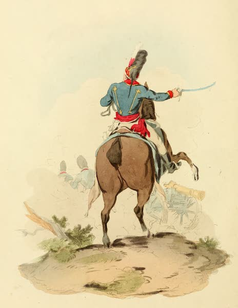 Picturesque Representations of the English - Officer of Royal Horse Artillery (1813)