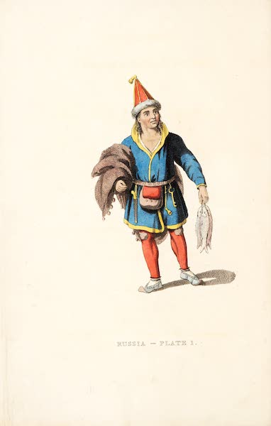 Picturesque Representations of the Russians - Frontispiece: A Laplander (1814)