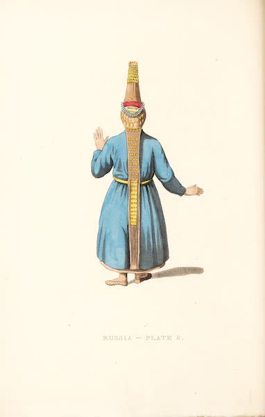 Picturesque Representations of the Russians - The Back of a Tcheremhisian Woman (1814)