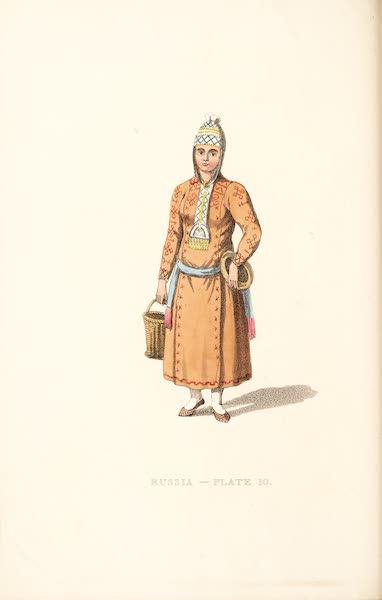 Picturesque Representations of the Russians - A Tchouvashian Female (1814)