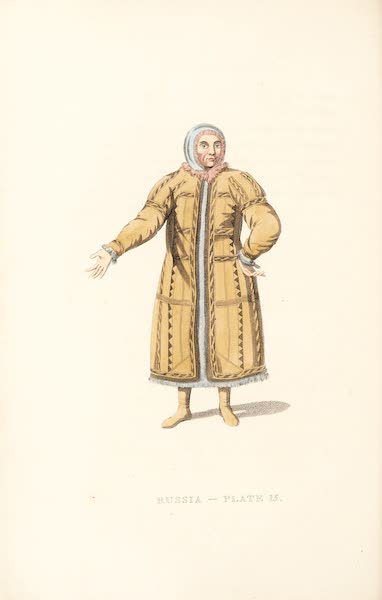 Picturesque Representations of the Russians - An Ostiak of the Obe (1814)